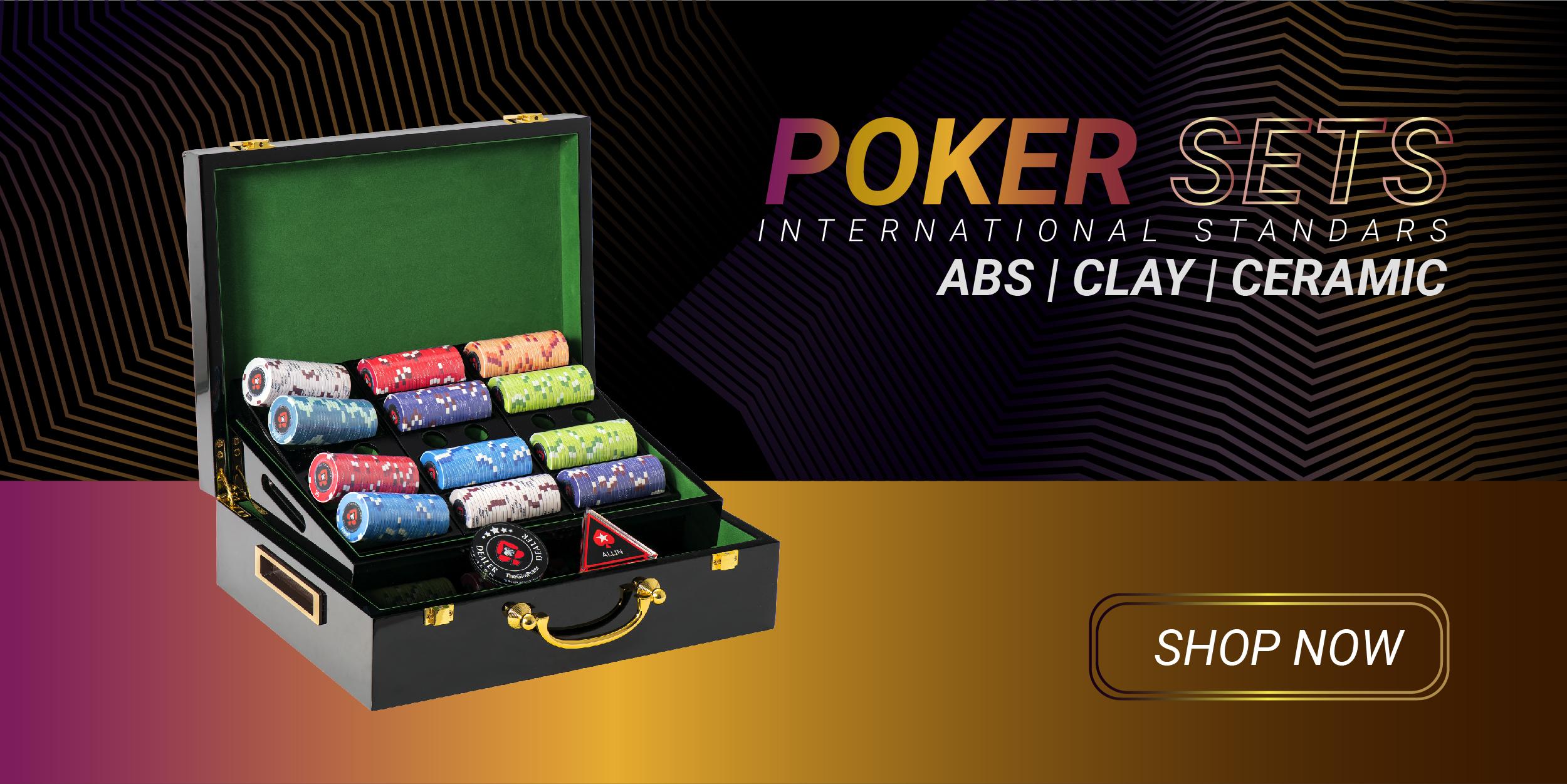 Poker chip Set mới nhất tại Việt Nam 2020