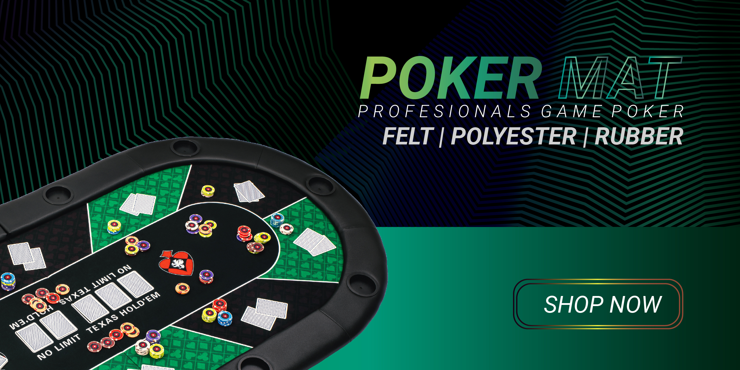 Poker Mat 2020 top layout table