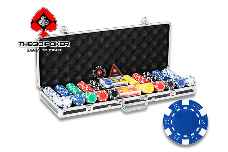 500 chip poker ABS Striped Dice chính hãng nhập khẩu bởi THEGIOIPOKER