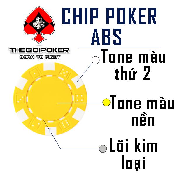 Chip Poker ABS Chính Hãng