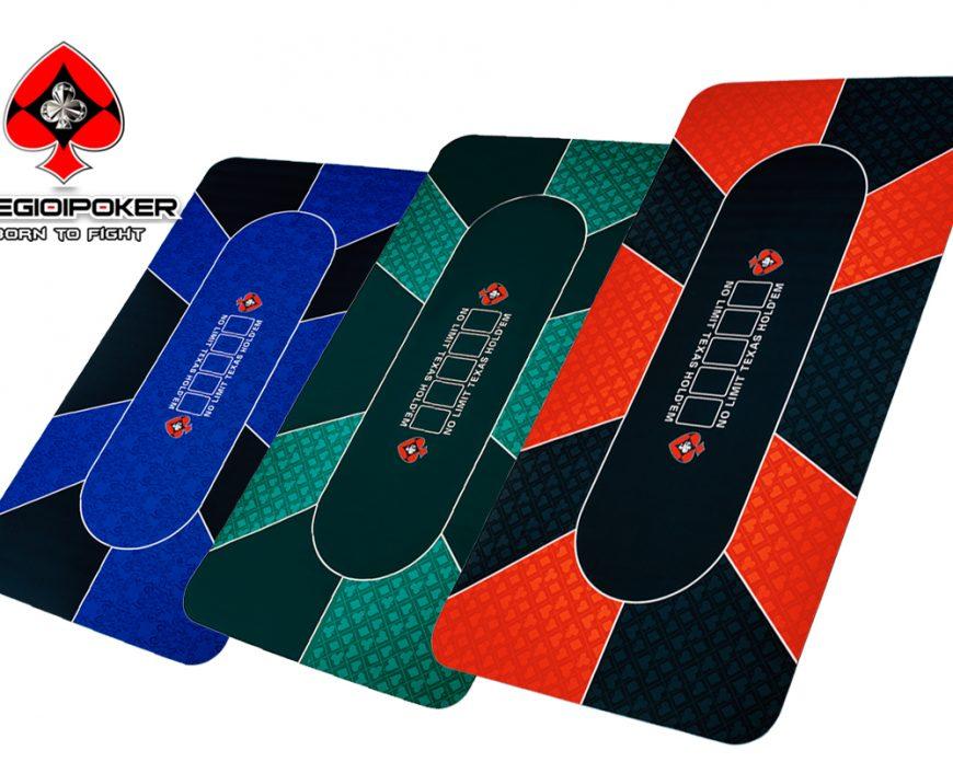 thảm poker cao su hình chữ nhật kích thước 90x180cm mới nhất chào xuân 2021