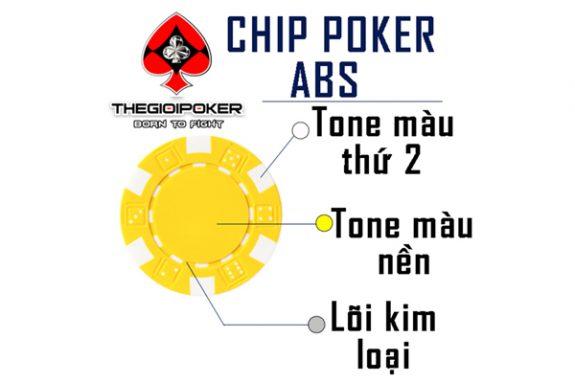 chất liệu chip poker ABS