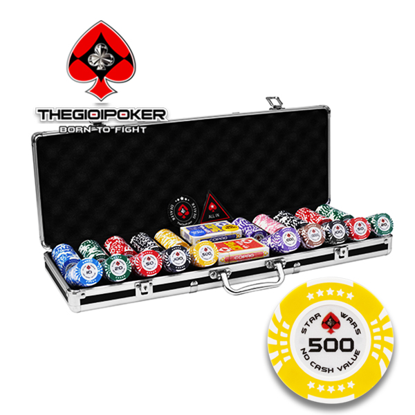 chip poker clay 500 phỉnh poker Star Wars được nhập khẩu mới nhất 2021 và được phân phối độc quyền tại THEGIOIPOKER