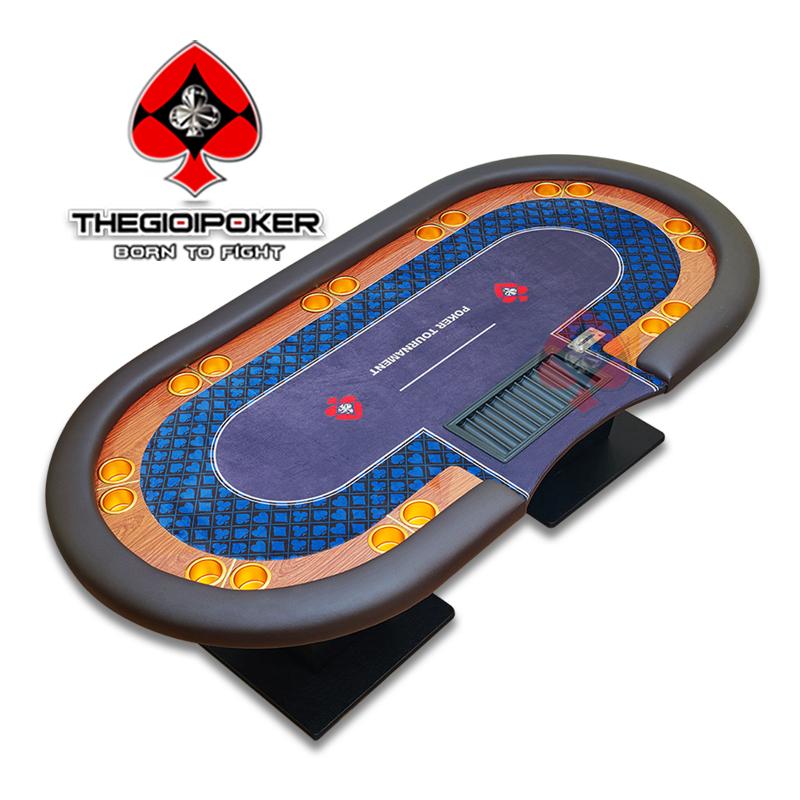 bàn poker tournament luxury cao cấp chuẩn quốc tế được thiết kế bởi THEGIOIPOKER