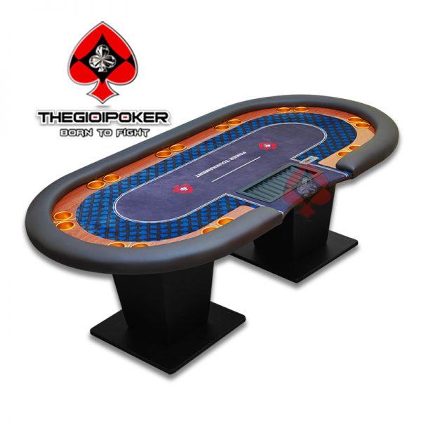Bàn Poker Cao Cấp Luxury dành cho home game poker cao cấp đượ thiết kế thi công bởi THEGIOIPOKER