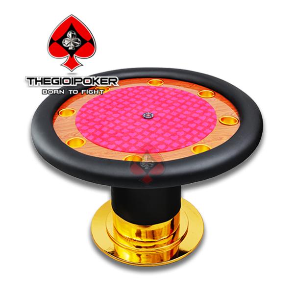 bàn poker tròn chuyên nghiệp Sunrise được nhập khẩu và thiết kế riêng cho khách hàng tai VIệt nam