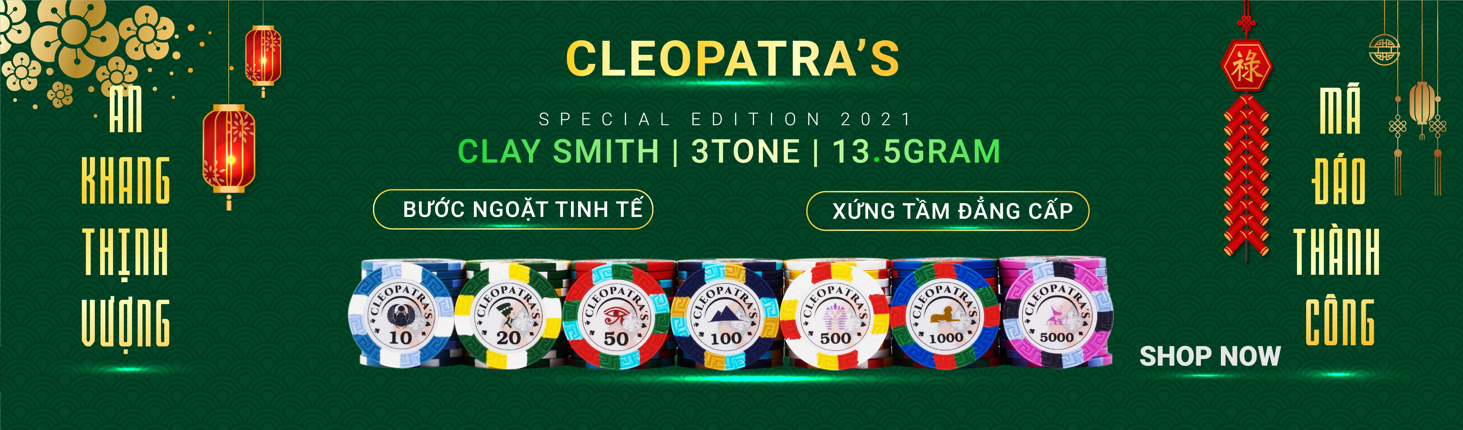 bộ chip poker tết 2021 được nhập khẩu bởi THEGIOIPOKER