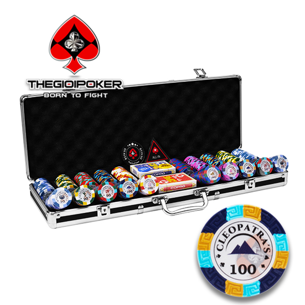 Chip poker clay ceramic 500 phỉnh poker