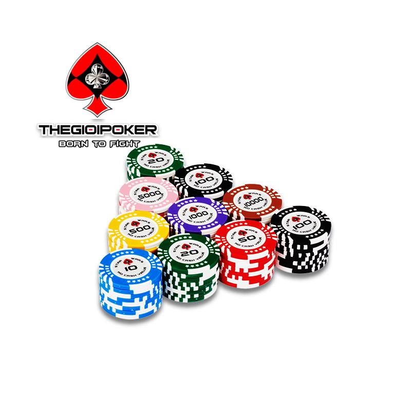 Chip poker clay star wars mới nhất 2021 được nhập khẩu bởi THEGIOIPOKER