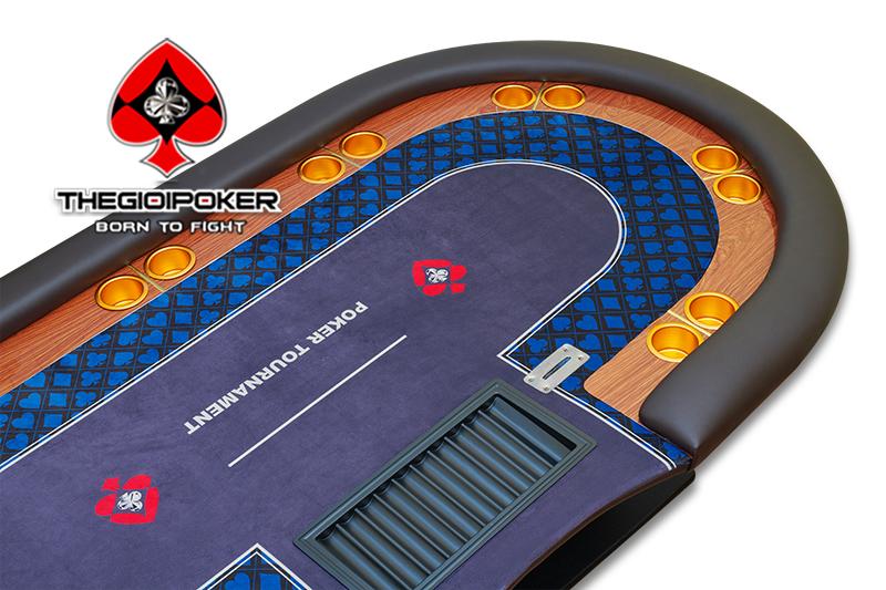 Bàn Poker được thiết kế và sản xuất bởi THEGIOIPOKER