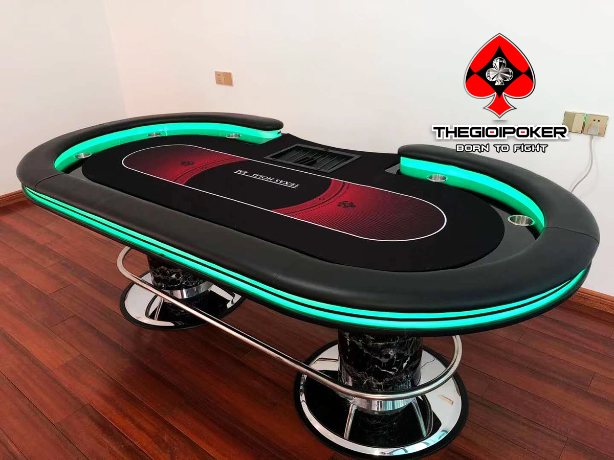 Poker Table bànpoker chuyên nghiệp cao cấp dành cho club poker và home game