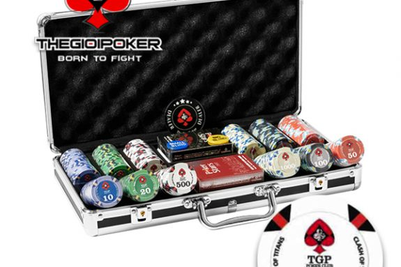 chip poker ceramic cao cấp chính hãng được nhập khẩu bởi TheGioiPoker