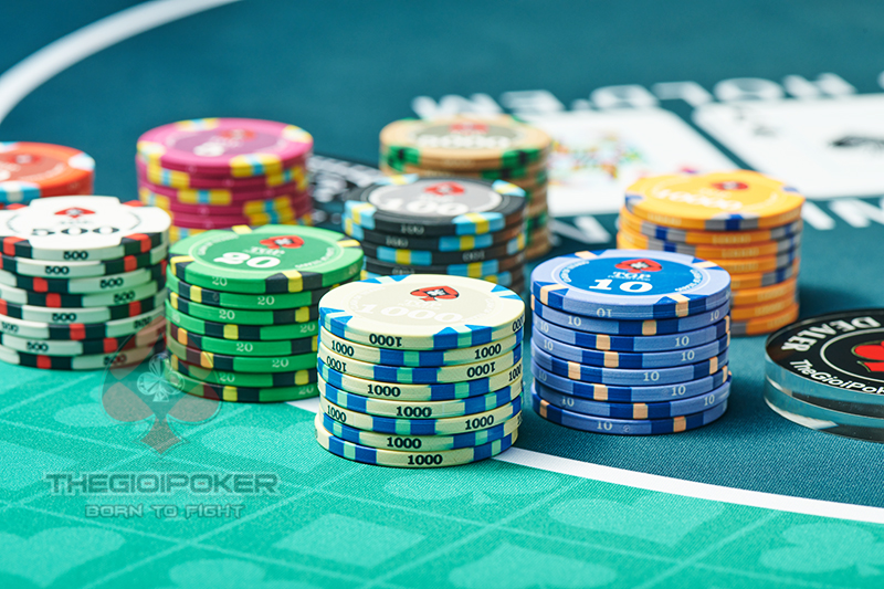 Chip Poker Ceramic New 2021 Clash of Titan
