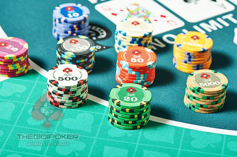 Phỉnh Poker Ceramic New 2021 được nhập khẩu bởi TheGioiPoker