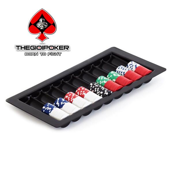 Tray 500 chip poker Acrylic cao cấp