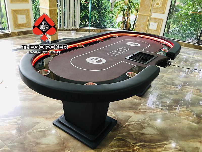 Bàn Poker cao cấp thiết kế dành riêng cho nhà hàng T&T
