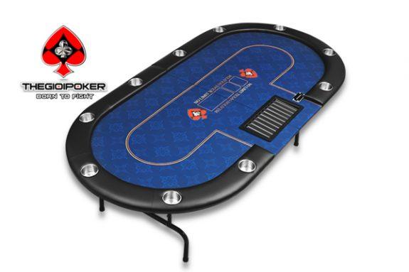 bàn chơi poker folding Crown bule sky được nhập khẩu bởi TheGioiPoker
