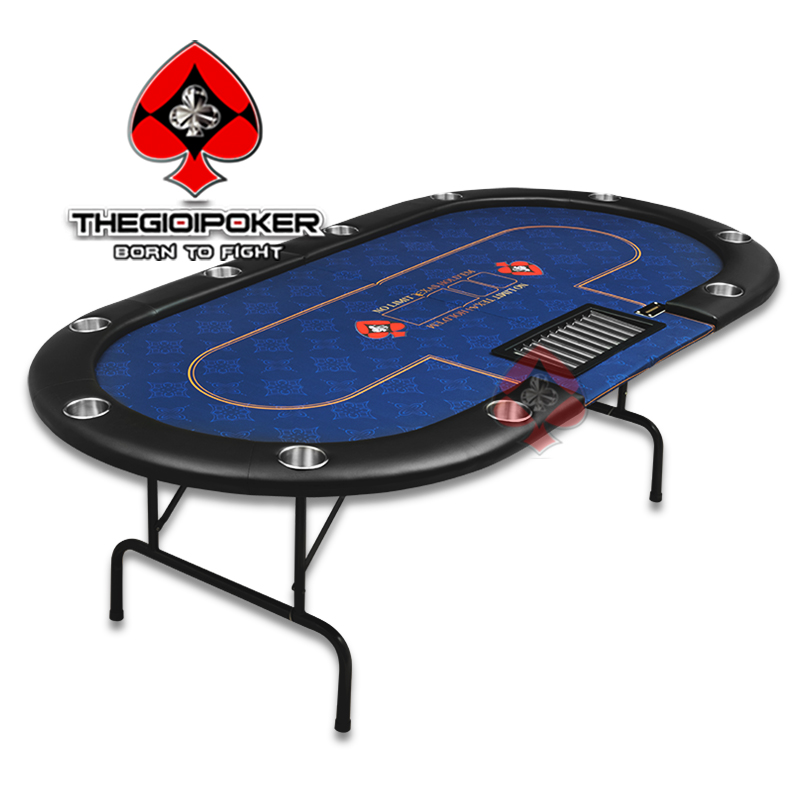 Bàn Poker Folding Crown được nhập khẩu nguyên chiêc bởi TheGioiPoker