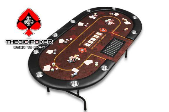 Bàn poker gấp gọn đa năng Folding Big Star được nhập khẩu và phân phối bởi TheGioiPoker