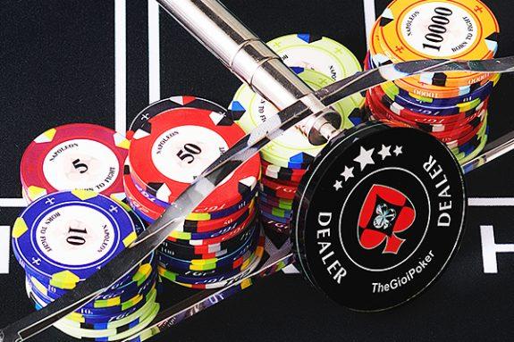 Gậy Cào chip Poker Acrylic được nhập khẩu bởi TheGioiPoker