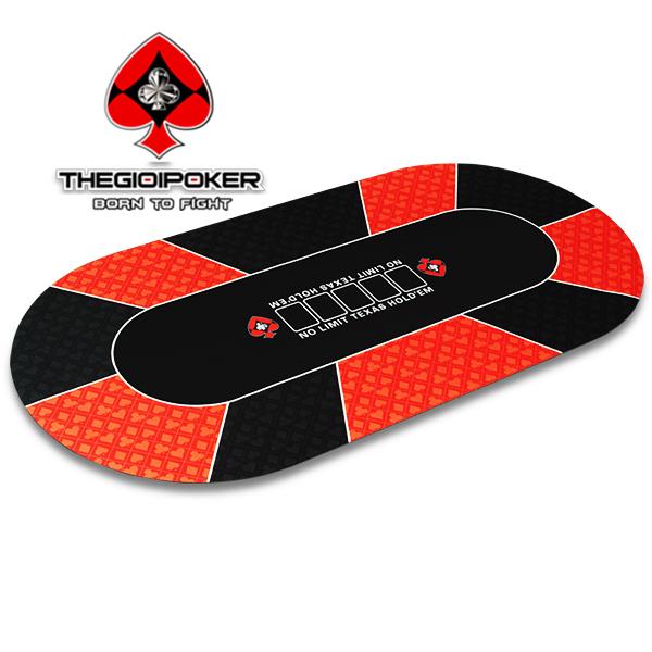 Thảm Poker cao su Oval V4 chính hãng được nhập khẩu bởi TheGioiPoker