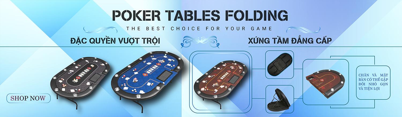 bàn poker cao cấp chính hãng dành cho 10 người chơi