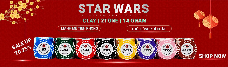 chip poker clay star wars new 2021