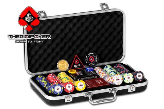 Vali 300 chip poker ceramic napoleon được nhập khẩu và phân phối bởi TheGioiPoker